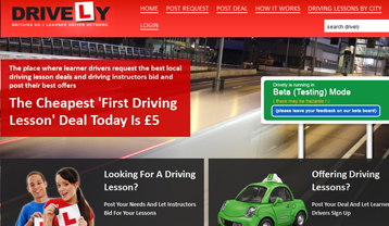 Drively Learner Driver & Instructor Driving Lessons Network